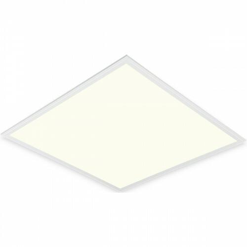 LED Paneel - Aigi Clena - Dimbaar - 60x60 Natuurlijk Wit 4000K - 40W Inbouw Vierkant - Mat Wit - Flikkervrij