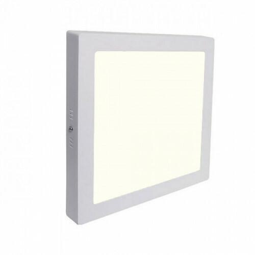 LED Downlight - Opbouw Vierkant 12W - Natuurlijk Wit 4200K - Mat Wit Aluminium - 170mm