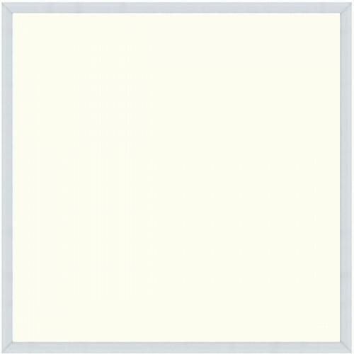 LED Paneel - Hotty - 60x60 Natuurlijk Wit 4200K - 40W Inbouw Vierkant - Mat Wit - Flikkervrij