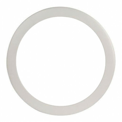 LED Paneel Slim - Ø30 Helder/Koud Wit 6000K - 24W Inbouw Rond - Mat Wit Aluminium