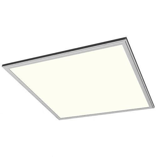 LED Paneel - 60x60 Natuurlijk Wit 4200K - 50W Inbouw Vierkant - Mat Zilver Aluminium
