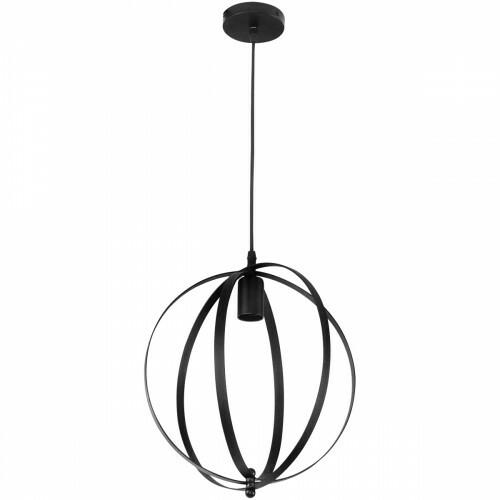 LED Plafondlamp - Plafondverlichting - Newty - Industrieel - Rond - Mat Zwart Aluminium - E27