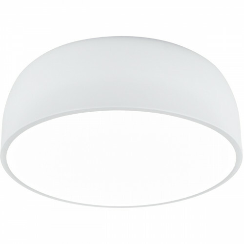 LED Plafondlamp - Plafondverlichting - Trion Barnon - E27 Fitting - 4-lichts - Rond - Mat Wit - Aluminium