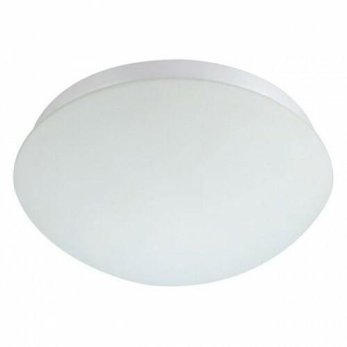 LED Lamp met Bewegingssensor - Opbouw Ovaal - 360° - E27 - Mat Wit Kunststof