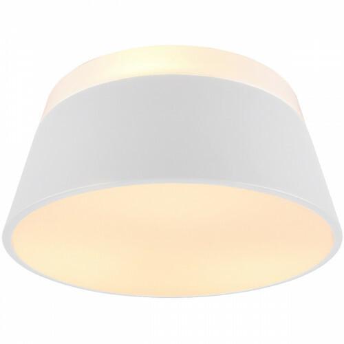LED Plafondlamp - Trion Barnaness - E27 Fitting - 3-lichts - Rond - Mat Wit - Aluminium