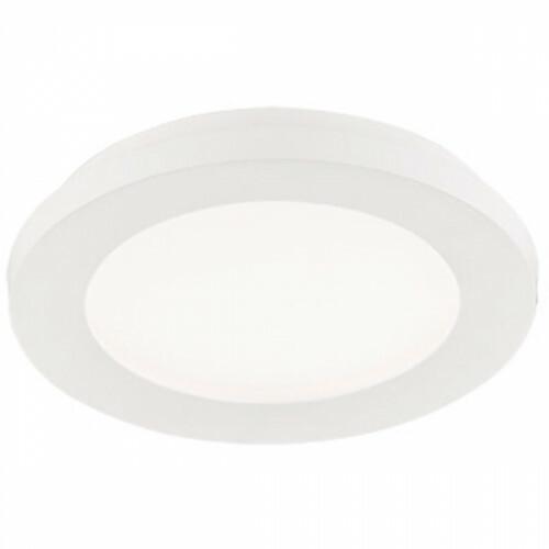LED Plafondlamp - Trion Camy - Opbouw Rond 10W - Spatwaterdicht IP44 - Dimbaar - Warm Wit 3000K - Mat Wit