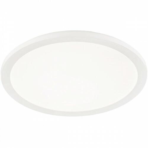 LED Plafondlamp - Trion Camy - Opbouw Rond 24W - Spatwaterdicht IP44 - Dimbaar - Warm Wit 3000K - Mat Wit