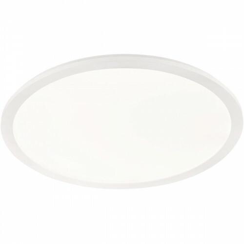 LED Plafondlamp - Trion Camy - Opbouw Rond 30W - Spatwaterdicht IP44 - Dimbaar - Warm Wit 3000K - Mat Wit