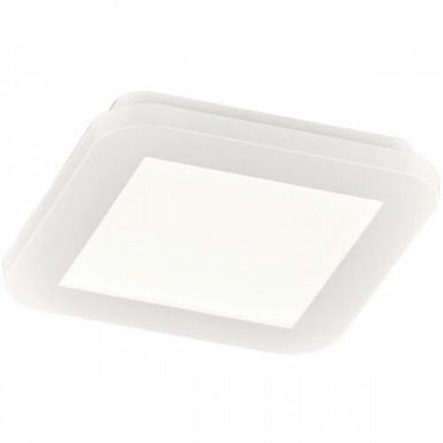 LED Plafondlamp - Trion Camy - Opbouw Vierkant 10W - Spatwaterdicht IP44 - Dimbaar - Warm Wit 3000K - Mat Wit