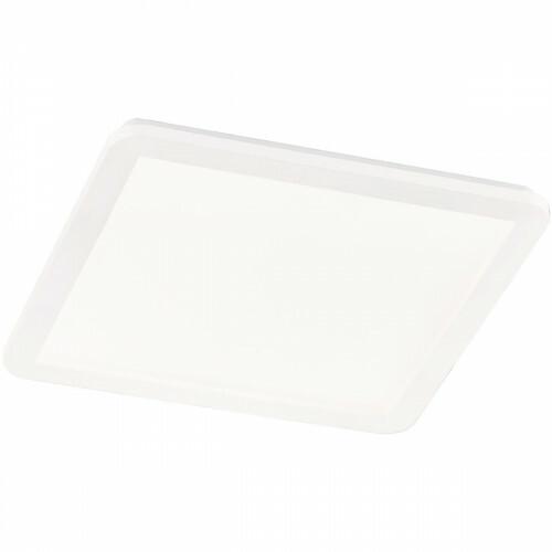LED Plafondlamp - Trion Camy - Opbouw Vierkant 24W - Spatwaterdicht IP44 - Dimbaar - Warm Wit 3000K - Mat Wit