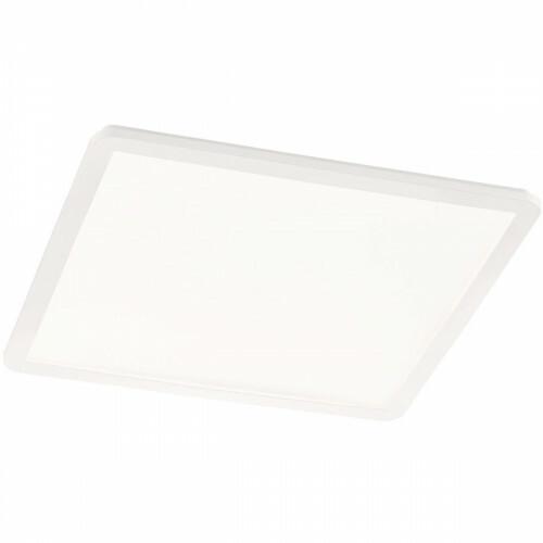 LED Plafondlamp - Trion Camy - Opbouw Vierkant 30W - Spatwaterdicht IP44 - Dimbaar - Warm Wit 3000K - Mat Wit