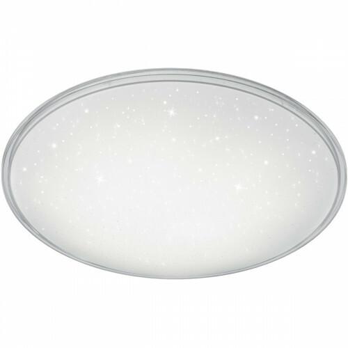 LED Plafondlamp - Trion Kanimo - 21W - Natuurlijk Wit 4000K - Dimbaar - Rond - Mat Wit - Kunststof