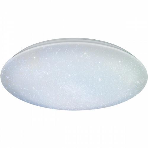 LED Plafondlamp - Trion Kilomu - 80W - Aanpasbare Kleur - Dimbaar - Afstandsbediening - Rond - Mat Wit