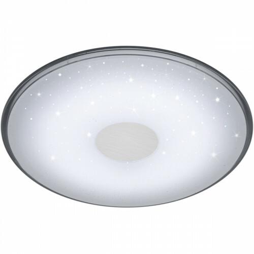 LED Plafondlamp - Trion Sorgina - 30W - Aanpasbare Kleur - Dimbaar - Afstandsbediening - Rond - Mat Wit
