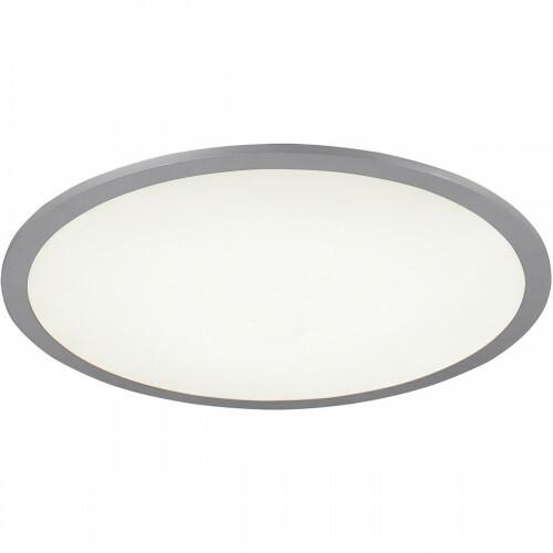 LED Plafondlamp WiZ - Smart LED - Trion Alineon - Slimme LED - Dimbaar - Aanpasbare Kleur - 22W - Mat Titaan - Rond