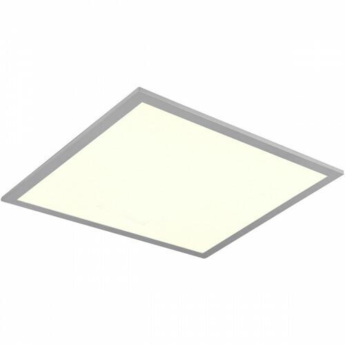 LED Plafondlamp WiZ - Smart LED - Trion Alineon - Slimme LED - Dimbaar - Aanpasbare Kleur - 22W - Mat Titaan - Vierkant