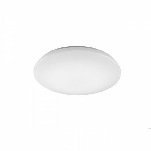 LED Plafondlamp WiZ - Smart LED - Trion Chirlo - 27W - Aanpasbare Kleur - Dimbaar - Afstandsbediening - Rond - Mat Wit - Kunststof