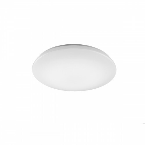 LED Plafondlamp WiZ - Trion Chirlo - 27W - Aanpasbare Kleur - Dimbaar - Afstandsbediening - Rond - Mat Wit - Kunststof