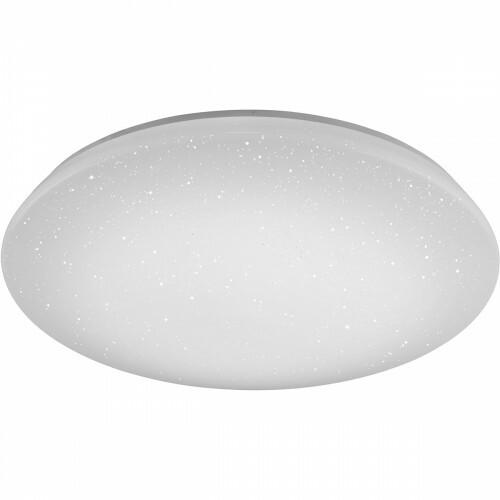 LED Plafondlamp WiZ - Smart LED - Trion Chirlo - 27W - Aanpasbare Kleur - Dimbaar - Afstandsbediening - Sterlicht - Rond - Mat Wit - Kunststof