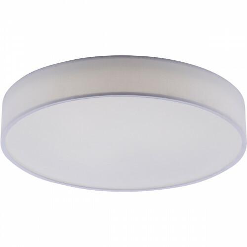 LED Plafondlamp WiZ - Smart LED - Trion Ditro - 36W - Aanpasbare Kleur - RGBW - Dimbaar - Afstandsbediening - Rond - Mat Wit - Aluminium
