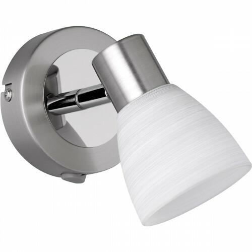 LED Plafondspot - Trion Caru - 3W - G9 Fitting - Warm Wit 3000K - 1-lichts - Dimbaar - Rond - Mat Nikkel - Aluminium