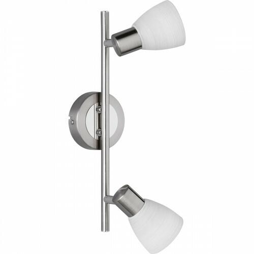 LED Plafondspot - Trion Caru - 6W - G9 Fitting - Warm Wit 3000K - 2-lichts - Dimbaar - Rond - Mat Nikkel - Aluminium
