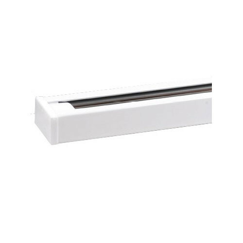 Spanningsrail - 1 Fase - Aluminium Glans Wit - 1m