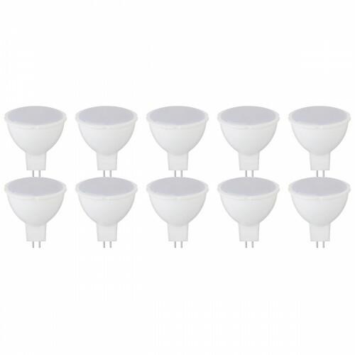 LED Spot 10 Pack - Fona - GU5.3 Fitting - 4W - Natuurlijk Wit 4200K - 230V