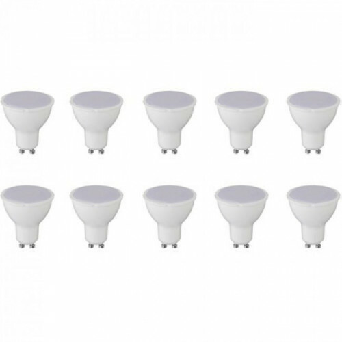 LED Spot 10 Pack - GU10 Fitting - 8W - Warm Wit 3000K