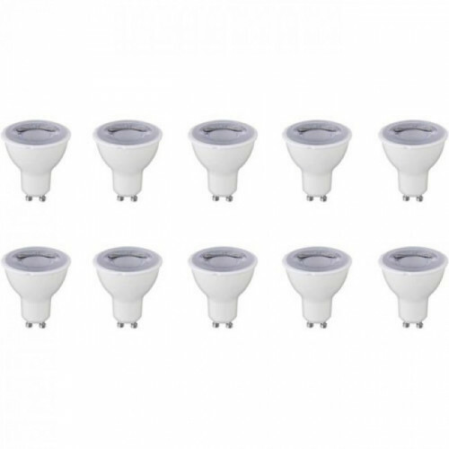 LED Spot 10 Pack - GU10 Fitting - Dimbaar - 6W - Natuurlijk Wit 4200K