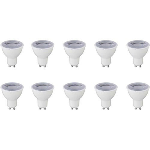 LED Spot 10 Pack - GU10 Fitting - Dimbaar - 6W - Warm Wit 3000K