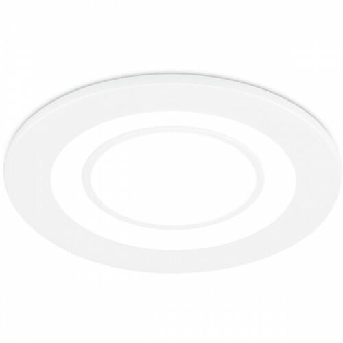 LED Spot - Inbouwspot - Trion Cynomi - 5W - Warm Wit 3000K - Rond - Mat Wit - Kunststof - Ø80mm