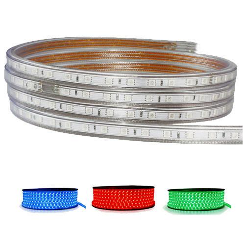 LED Strip RGB - 10 Meter - Dimbaar - IP65 Waterdicht 5050 SMD 230V