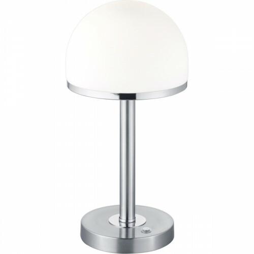 LED Tafellamp - Trion Berl - 4W - Warm Wit 3000K - Dimbaar - Rond - Mat Nikkel - Aluminium