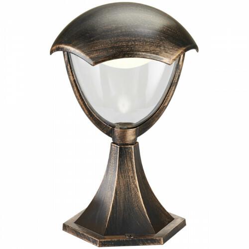 LED Tuinverlichting - Staande Buitenlamp - Trion Grichto - 6W - Warm Wit 3000K - Antiek Roestkleur - Aluminium