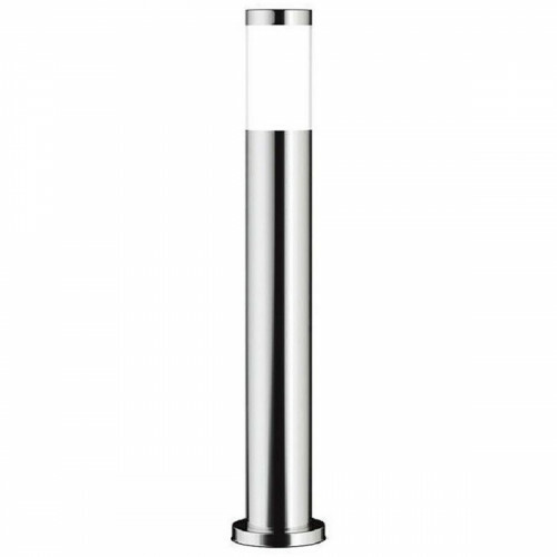 LED Tuinverlichting - Buitenlamp - Facto Bollina - Staand - RVS - E27 Fitting - Rond