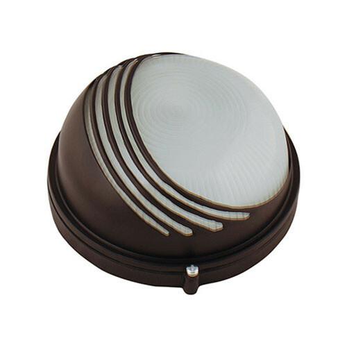 LED Tuinverlichting - Buitenlamp - Ridge - Wand - Aluminium Mat Zwart - E27 - Rond