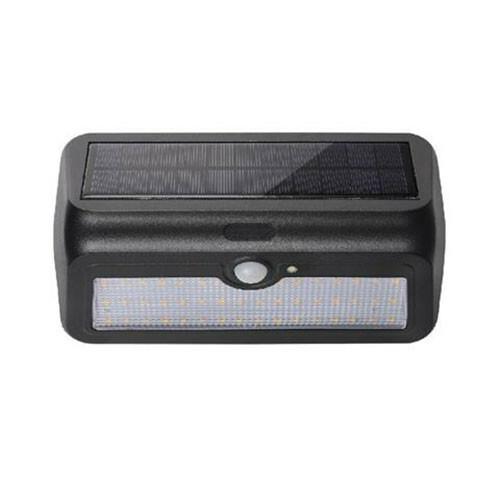 LED Tuinverlichting - Buitenlamp - Sira 2 - Zonne-energie - Bewegingssensor - 2W - Zwart
