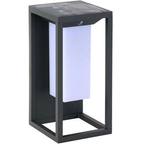 LED Tuinverlichting - Buitenlamp - Soly 1 - Zonne-energie - Bewegingssensor - 2W - Zwart
