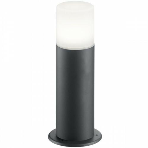 LED Tuinverlichting - Buitenlamp - Trion Hosina - Staand - E27 Fitting - Mat Zwart - Aluminium