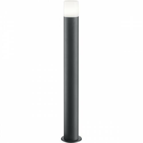 LED Tuinverlichting - Buitenlamp - Trion Hosina XL - Staand - E27 Fitting - Mat Zwart - Aluminium