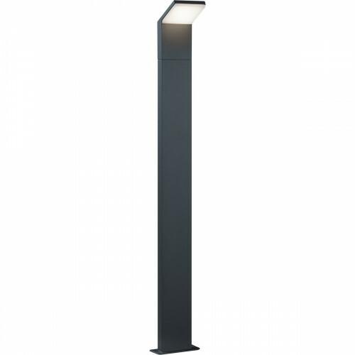 LED Tuinverlichting - Buitenlamp - Trion Pearly XL - Staand - 9W - Mat Zwart - Aluminium