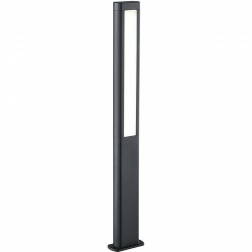 LED Tuinverlichting - Buitenlamp - Trion Rhinon XL - Staand - 10W - Mat Zwart - Aluminium