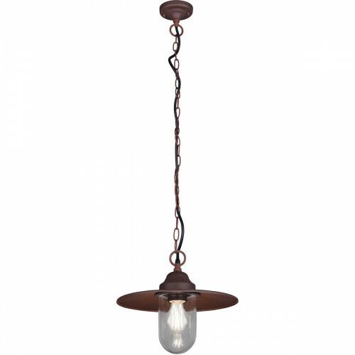 LED Tuinverlichting - Hanglamp - Trion Brinito - Plafond - E27 Fitting - Roestkleur - Aluminium