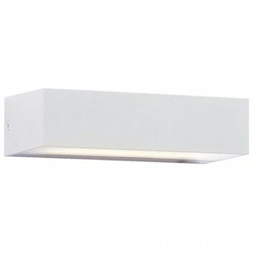 LED Tuinverlichting - Tuinlamp - Andina - Wand - 9W - Natuurlijk Wit 4200K - Mat Wit - Kunststof