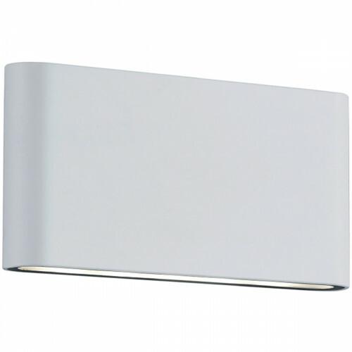 LED Tuinverlichting - Tuinlamp - Trion Thino - Wand - 8W - Mat Wit - Aluminium