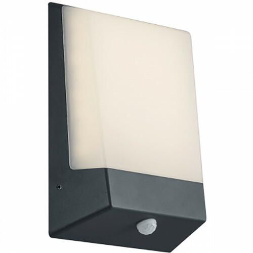 Huisnummer Verlichting - Trion Kasky - Lichtsensor - 9W - Mat Zwart - Aluminium