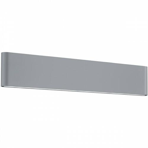 LED Tuinverlichting - Tuinlamp - Trion Thino - Wand - 16W - Mat Titaan - Aluminium