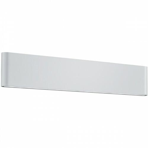 LED Tuinverlichting - Tuinlamp - Trion Thino - Wand - 16W - Mat Wit - Aluminium