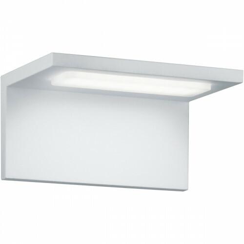 LED Tuinverlichting - Tuinlamp - Trion Tovery - Wand - 6W - Mat Wit - Aluminium